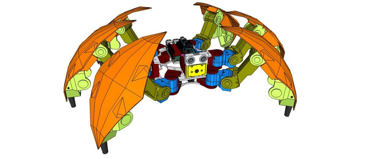 Project Hexapod Robot – H1 – Design concept