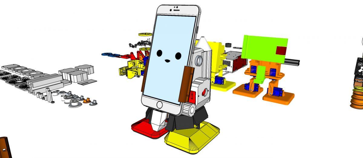 MobBob V2 Remix – Smart Phone Controlled Robot