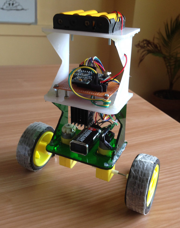 How to Build an Arduino Self-Balancing Robot