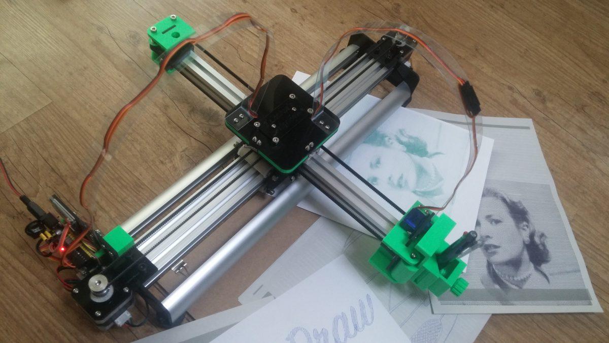 4xiDraw V1 / A4 Drawing Machine