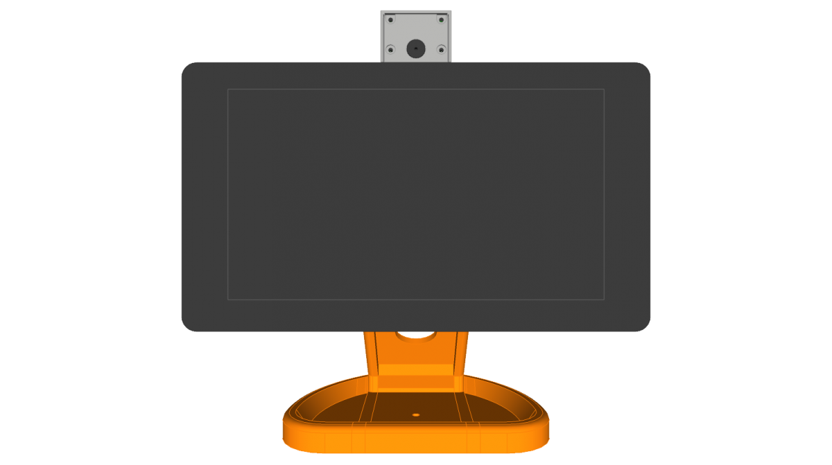 PiMac – Raspberry Pi 7 Inch Touch Screen Stand (with Camera)